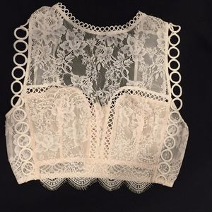 Victoria Secret lace bralette
